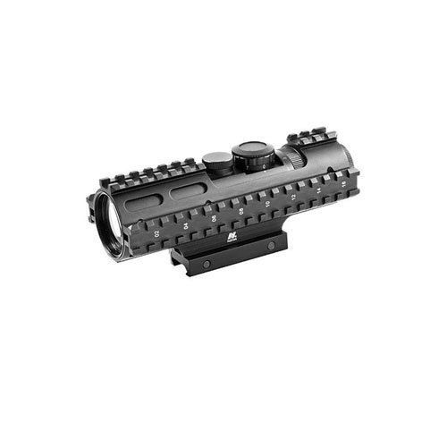 Ncstar Tri-Rail Series 3-9X42 Compact Scope Rangefinder Weaver Mount