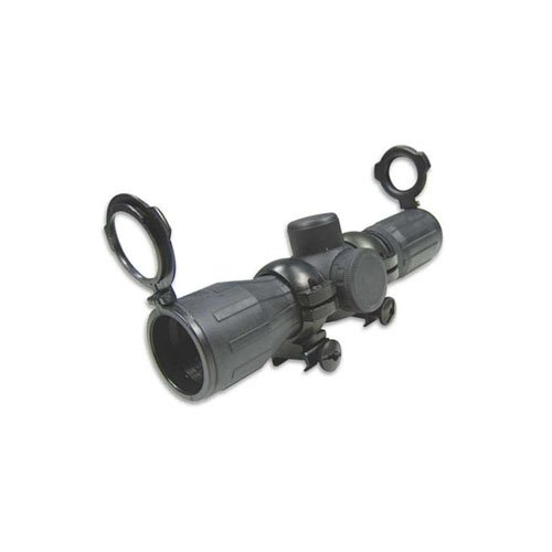 Ncstar Rubber Armored Compact 4X30e Red And Green Ill. Rubber Scope