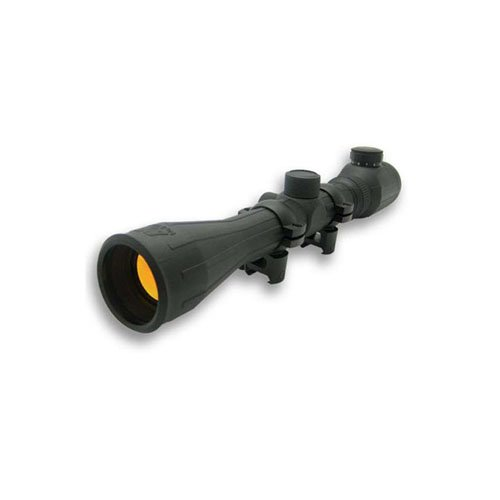 Ncstar Rubber Armored Full-Size 3-9X40 Green Ill. Scope