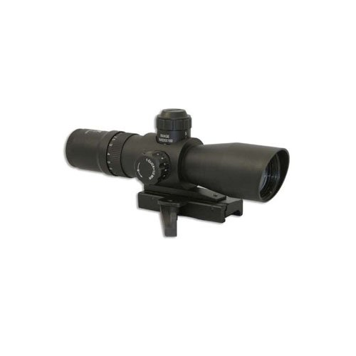 Ncstar Mark III Tactical Series Mil-Dot Quick Release Green Lens Rifle Scope