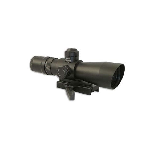 Ncstar Mark III Tactical Series 3-9X42 Compact-Red And Green Rifle Scope