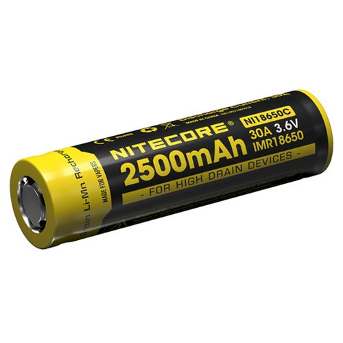 Nitecore IMR 18650C 2500mAh 30A Electric Cigarette Battery