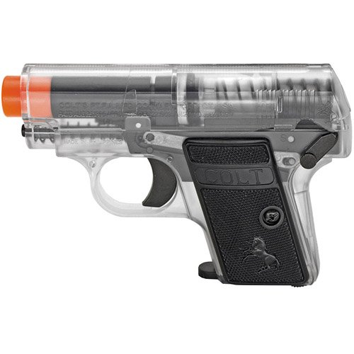 Colt  25 Spring Pistol Twin Pack - Clear