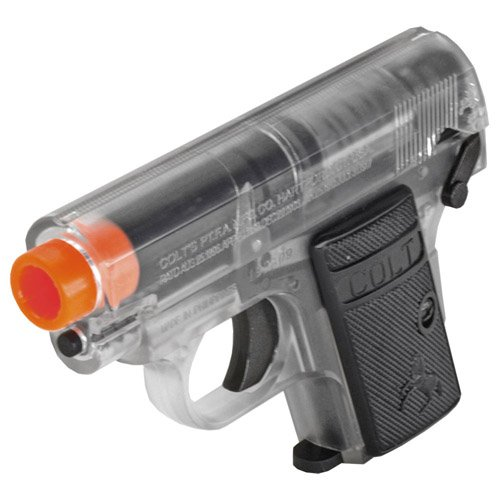 Colt .25 Spring Pistol Twin Pack - Clear