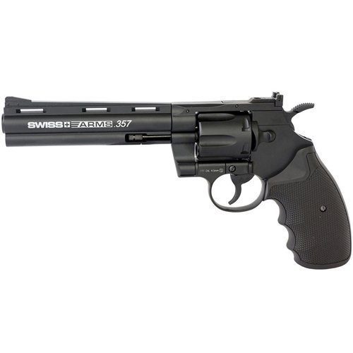 Swiss Arms 357 Magnum CO2 BB Revolver 6 Inch