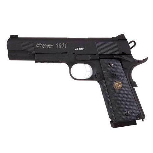 Sig Sauer 1911 4.5mm Steel BBs Airgun gun - 18rd