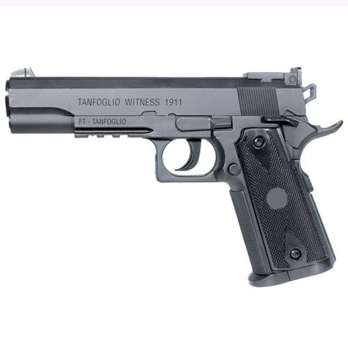 Tanfoglio 1911 4.5Mm CO2 Semi-Auto Black gun