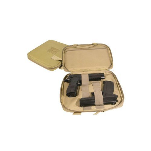 Swiss Arms Two gun Soft Case With Tan Carry Handle