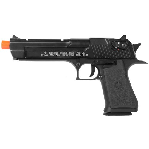 Desert Eagle .50AE Blowback CO2 Metal Slide Airsoft Pistol