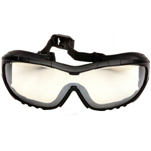 Pyramex V3G Indoor/Outdoor Mirror Anti-Fog Lens - Black