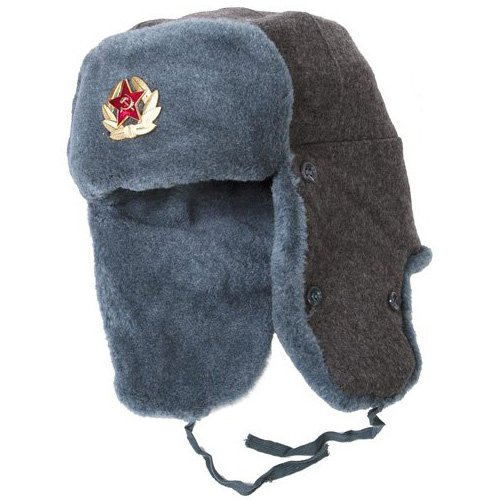 Russian Soviet Army Winter Hat