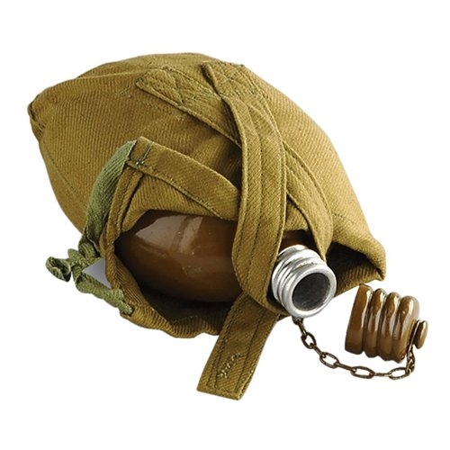 Soviet Army Russian Canteen - Brown