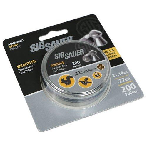 Sig Sauer Wraith Lead Pellets .22 Cal Blister Pack - 200pcs