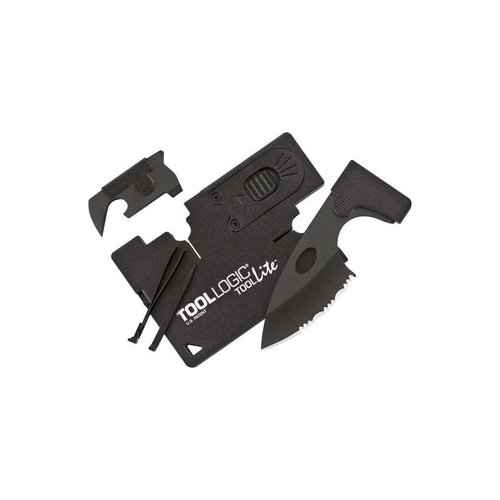 Sog Credit Card Companion With LED Light And Black Components