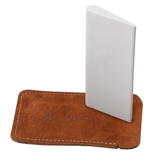 Slip Stone 2 x 4 Inch Teardrop-Shaped Sharpener w/ Case