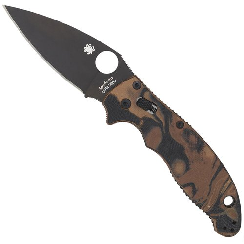 Spyderco G10 Handle 8 Inch Overall Length Folding Knife