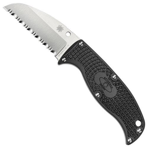 Spyderco Enuff Sheepfoot Blade Knife