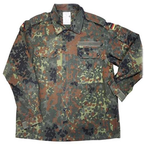 German Flectar Camo Field Shirt - Used