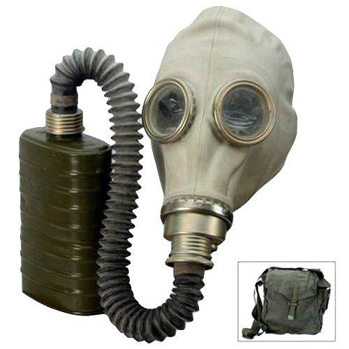 Polish Military M41 Gas Mask Kit