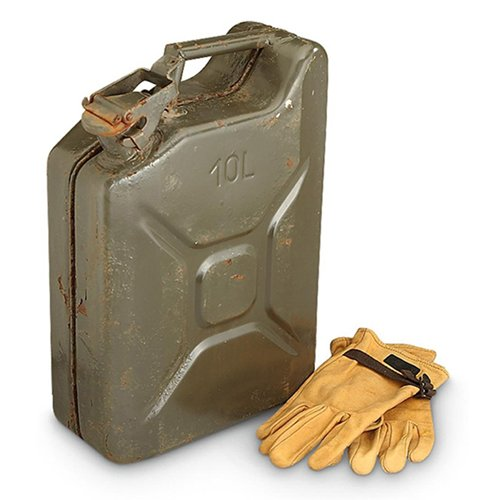 Czech 10L Jerry Can Used