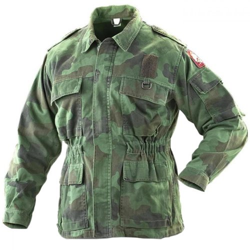 Serbian Woodland Used Jacket