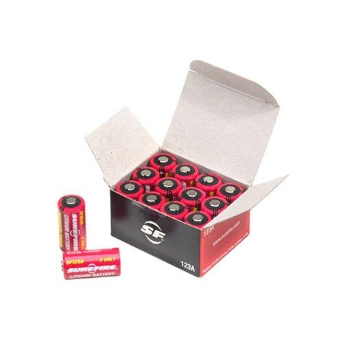 Surefire Box Of 12 Surefire 123A Lithium Batteries