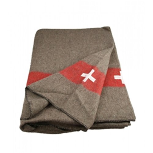 Swiss Army Wool Blanket Reproduction