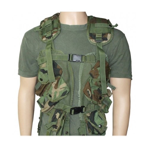 New US GI Issue Tactical Load Bearing Vest-Woodland