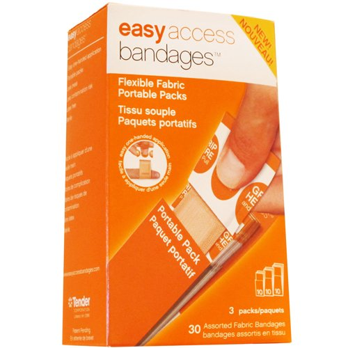 Easy Access Bandages Assorted Fabric Strips