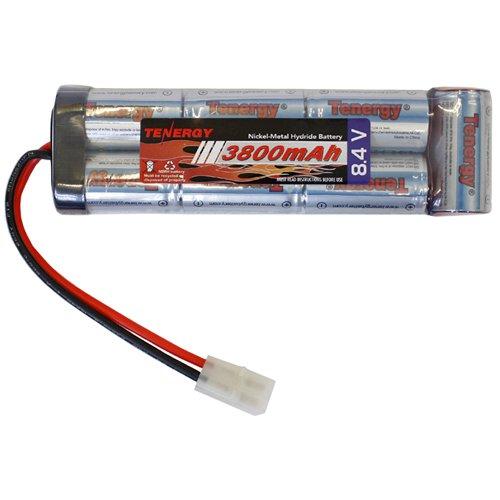 Tenergy NiMH 8.4V 3800mAh Large Flat Style Battery