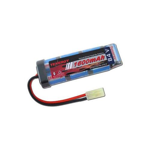 Tenergy NiMH 8.4V 1600mAh Mini Flat Style Battery