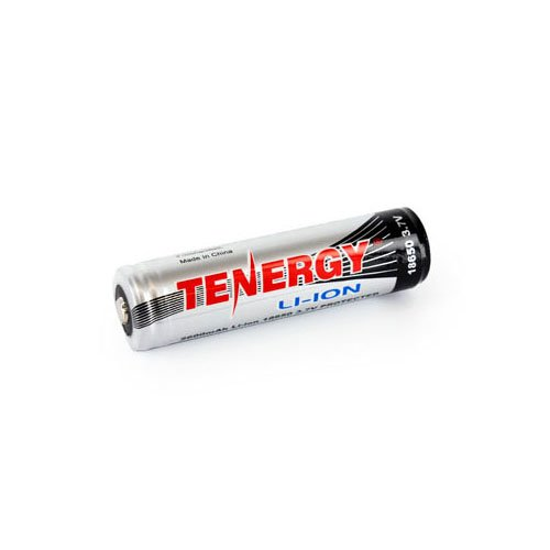 Tenergy Li-ion 18650 2600mAh Protected Button Top Battery