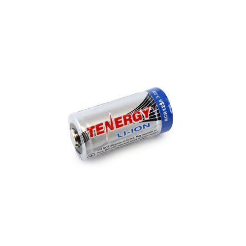 Tenergy Li-ion RCR123A 3.0V 600mAh Battery