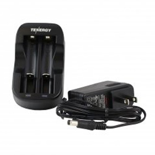Tenergy Li-ion RCR123A 600mAh Box Kit W/Smart Charger & Car Adapter