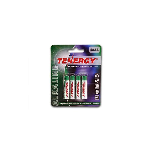Tenergy Alkaline AAA Non-rechargeable Batteries - 4 Pack