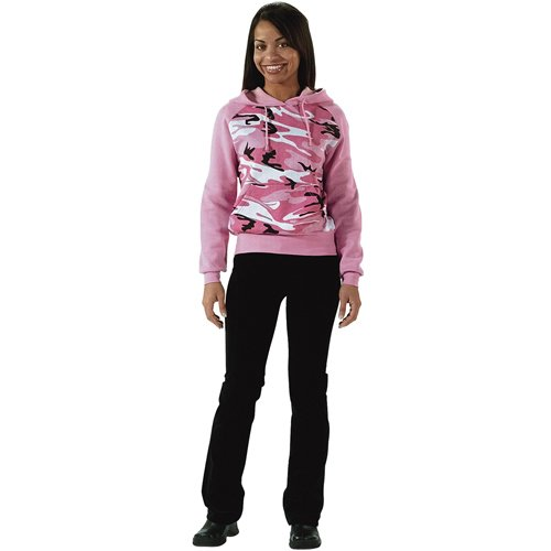 Womens Raglan 2-Tone Hooded Sweat Tops