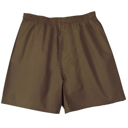 Ultra Force GI Type Mens Boxer Shorts - Brown