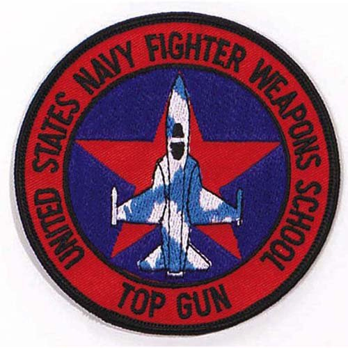 Ultra Force US Fighter 4 Inch School Top Gun Patch