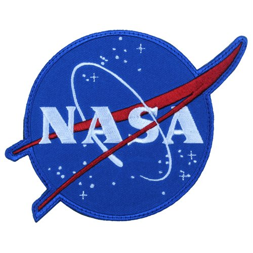 NASA Meatball Logo Patch