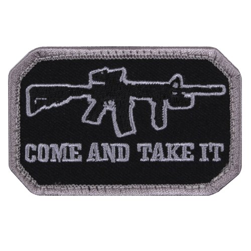 Come And Take IT Morale Patch - Black