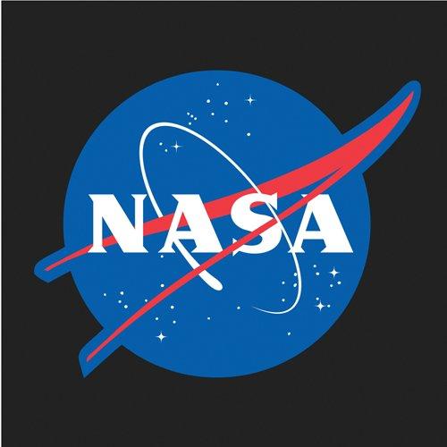 NASA Meatball Logo T-Shirt - Black