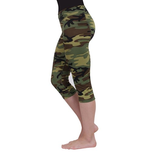 Women Workout Performance Capri - Camo