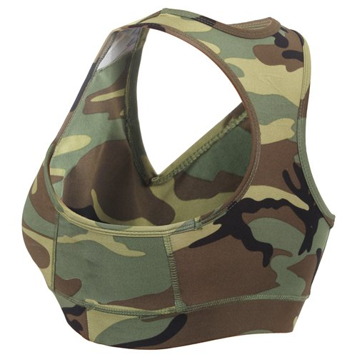 Military Inspired Camo Sports Bra