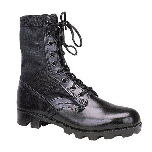 G.I. Type Steel Toe Jungle Boot - Black