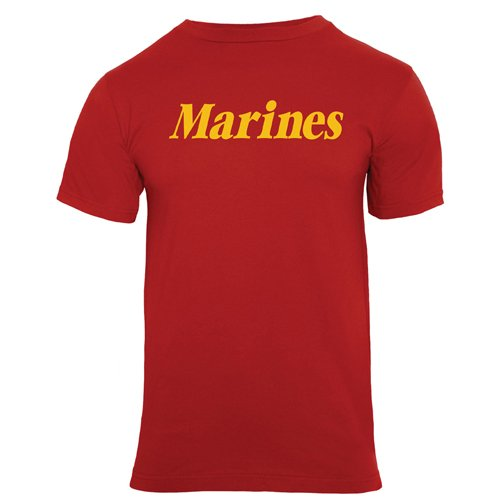 Ultra Force Mens Marines Printed T-Shirt