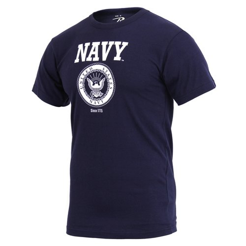 US Navy Emblem Printed T-Shirt