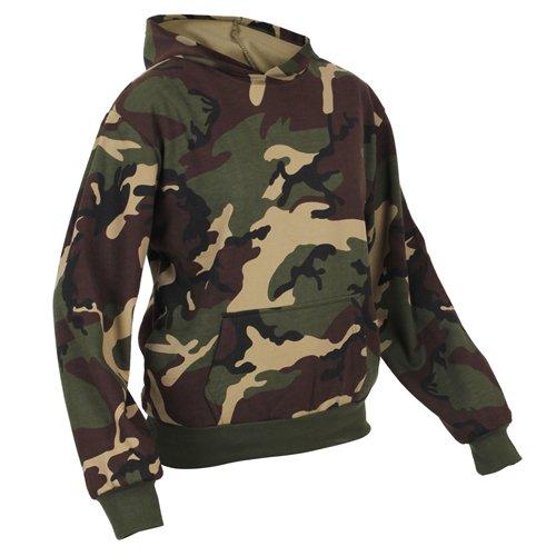 Ultra Force Kids Camo Pullover Hooded Sweatshirt