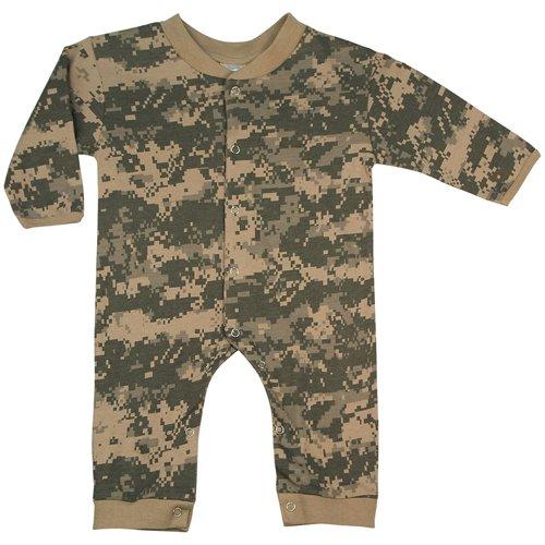 Infant Camo Long Sleeve And Leg One-Piece Bodysuit