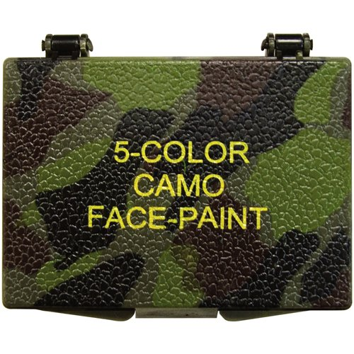 Five-Color Bark Camouflage Face Paint Compact