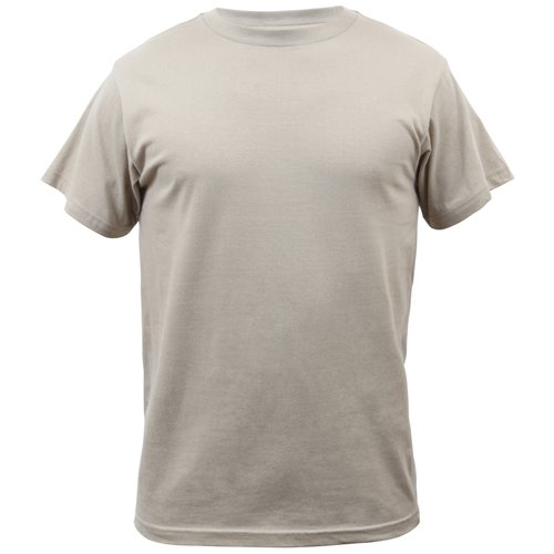 Mens Solid Color 100 Percent Cotton T-Shirt